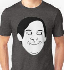 Tobey Maguire Face meme Unisex T-Shirt