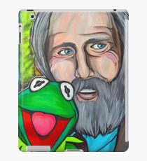 Jim Henson & Kermit the Frog iPad Case/Skin