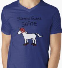 Skaters Gonna Skate (Unicorn Roller Derby) T-Shirt