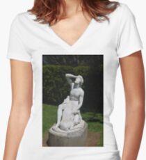 Auckland Botanic Gardens Women's Fitted V-Neck T-Shirt