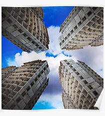 construction of residential buildings Poster