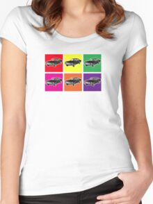 Warhol Mustangs Women's Fitted Scoop T-Shirt