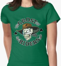 Ghost Riders Womens Fitted T-Shirt