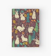White rabbits Hardcover Journal