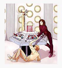 TARDIS Console Room Photographic Print