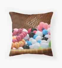 Gum balls? Naah Throw Pillow