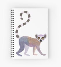 L is for Lemur Spiral Notebook