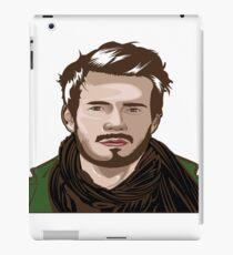 tutorial vector portrait  iPad Case/Skin