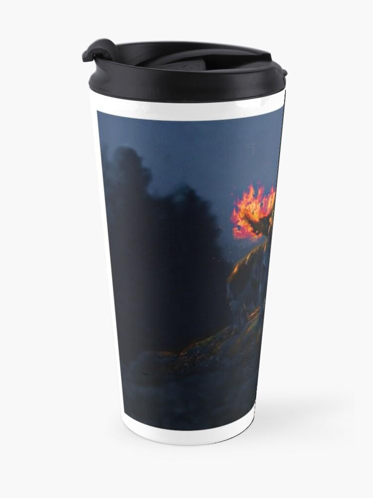Alternate view of Mythical Basset Travel Mug