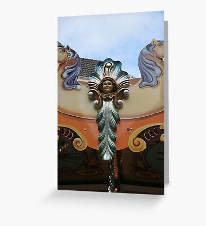 Fair angel. Greeting Card