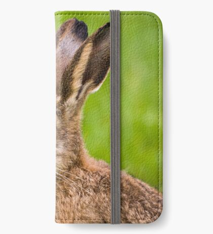 Brown Hare iPhone Wallet