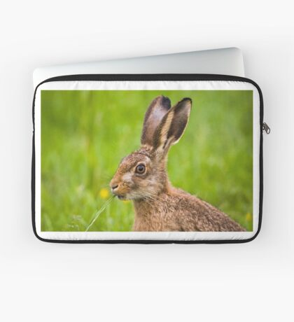 Brown Hare Laptop Sleeve
