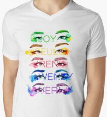 Red Velvet KPOP Men's V-Neck T-Shirt