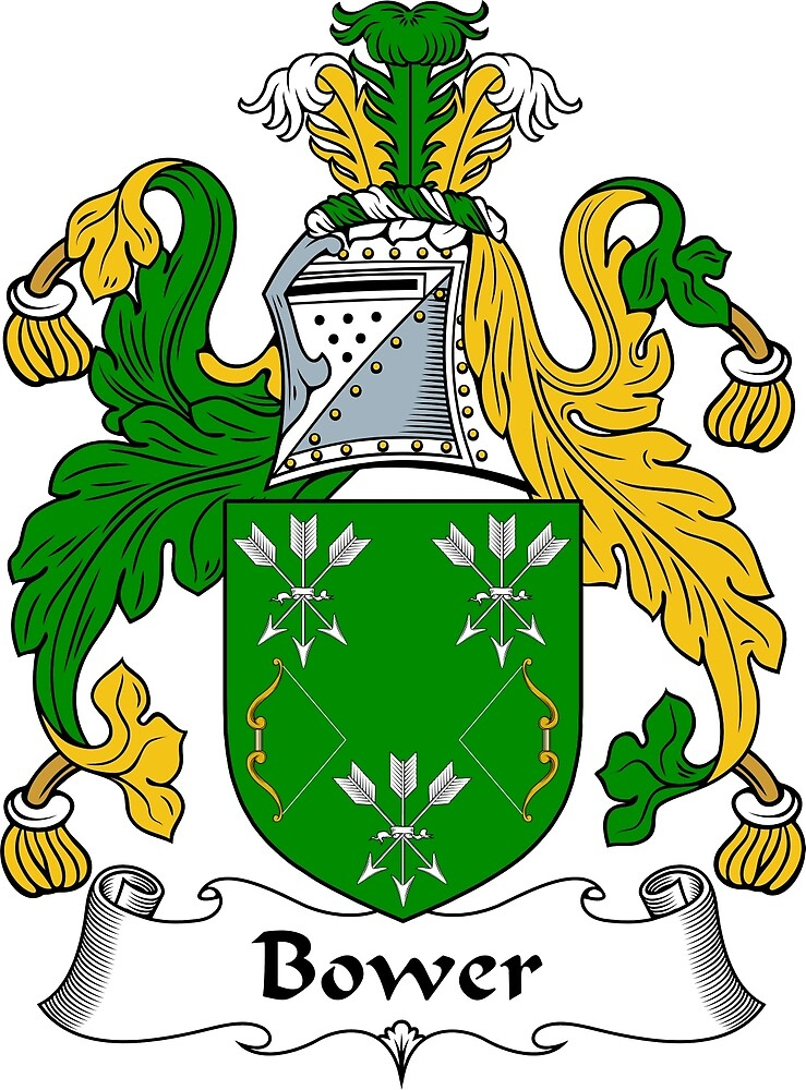 Bower Coat of Arms / Bower Family Crest by ScotlandForever