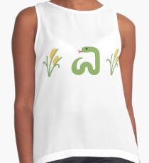Snake in the Grass Contrast Tank