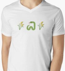 Snake in the Grass Men's V-Neck T-Shirt