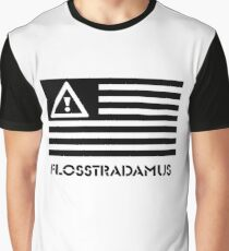 FLOSSTRADAMUS FLAG B&W Graphic T-Shirt