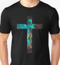 Camiseta unisex Green Galaxy Cross