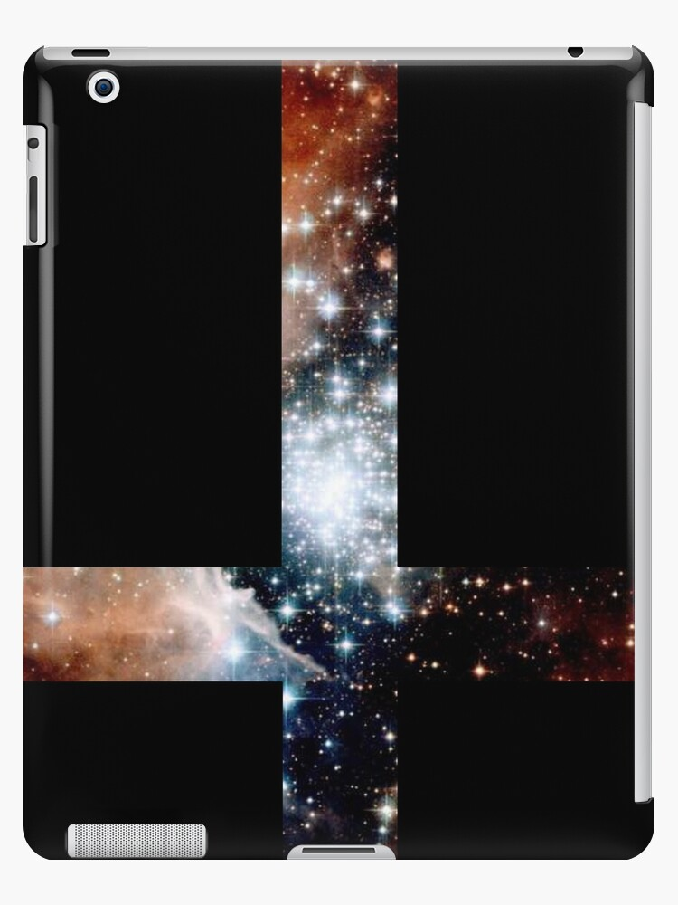 """Red Galaxy Inverted Cross"" iPad Cases & Skins by rapplatt ..."