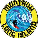Surfing MONTAUK LONG ISLAND NEW YORK Surf Surfboard Waves by MyHandmadeSigns