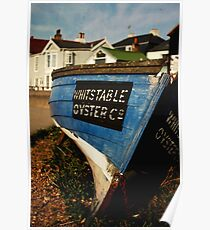 Whitstable Oyster Company Poster