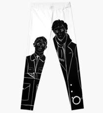 Sherlock and Watson Leggings