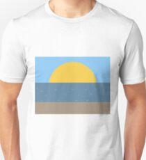 Sun Sea and Sand Unisex T-Shirt
