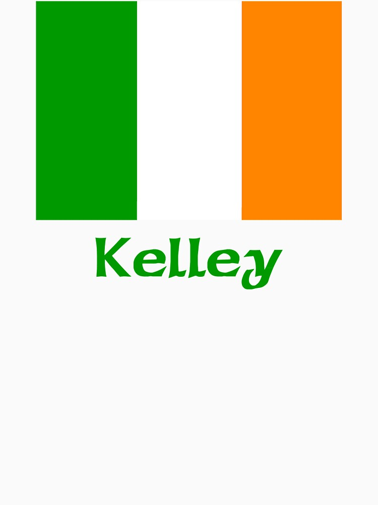 Kelley Irish Flag by IrishArms