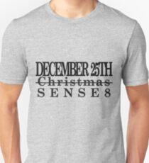 Sense8 Release Date Unisex T-Shirt