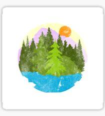Campy Sticker