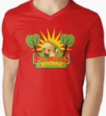 Sweet Apple Acres Mens V-Neck T-Shirt