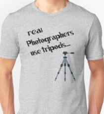photographers use tripods T-Shirt