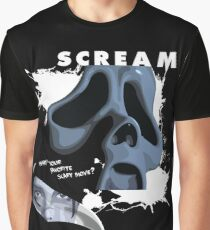 Ghostface Graphic T-Shirt