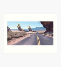 Highway Patrolman Art Print