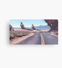 Highway Patrolman Metal Print