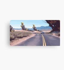 Highway Patrolman Canvas Print