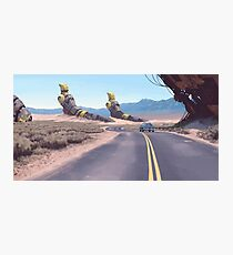 Highway Patrolman Photographic Print