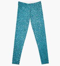 Blue Mermaid Leggings
