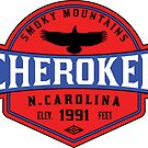 CHEROKEE NORTH CAROLINA SMOKY MOUNTAINS SMOKIES by MyHandmadeSigns