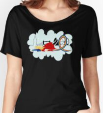 Supergirl Rainbow Women's Relaxed Fit T-Shirt