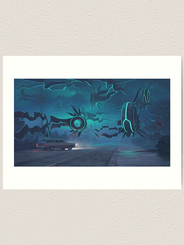 Alternate view of Spawning Event Art Print
