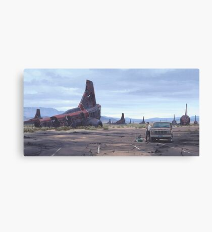 The Engineer Canvas Print