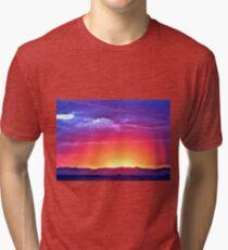 Watson's Sunset Tri-blend T-Shirt
