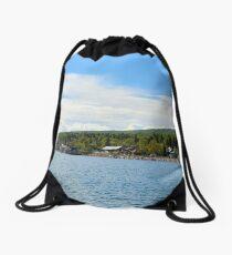 Grand Marais Drawstring Bag