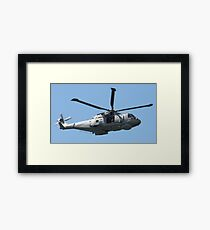 Royal Air Force Merlin Helicopter. Framed Print