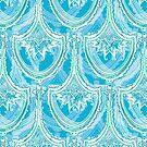 Catenary Fan 5 Blue Sherbet by Edward Huse