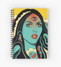 Diviniation Spiral Notebook