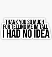 tall Sticker