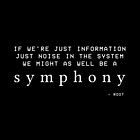 We Might As Well Be A Symphony by anatomyautumnal