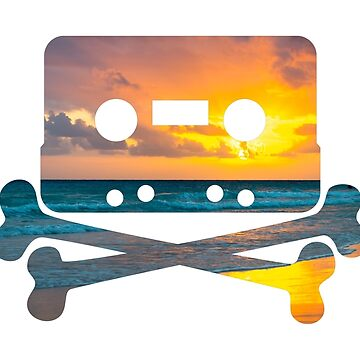 Pirate Sunset Cassette by bms-photo